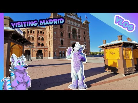 🐺 VLOG #24 - City Trip In Madrid, Spain Together With Furrite