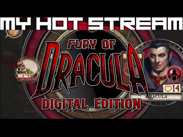 Fury of Dracula: Digital Edition - First Impressions & Tutorial