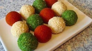 Праздничная закуска «Сырные шарики»
