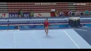 Maria Paseka (RUS) FX Qual / TF Universiade Gwangju 2015