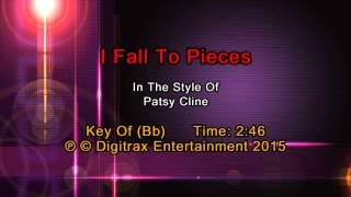 Patsy Cline - I Fall To Pieces (Backing Track)