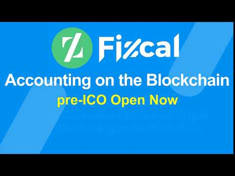 Fizcal - pre-ICO Open - Accounting on the Blockchain