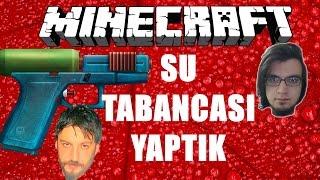 Su Tabancası Yaptık | Minecraft Türkçe Master Builders | Bölüm 21