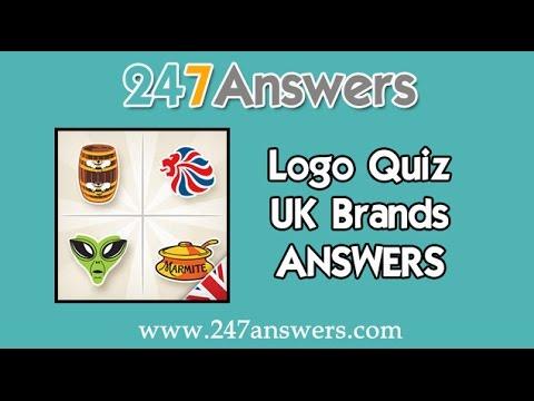 Logo Quiz Uk Brands Answers Levels 1 100