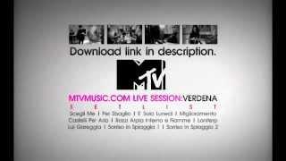 Verdena @ Mtvmusic.com Live Session 2011 (COMPLETE AUDIO DOWNLOAD)