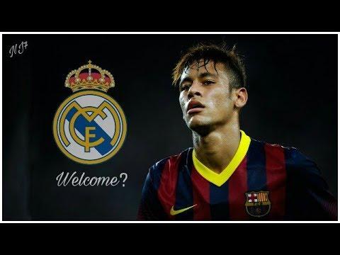 Neymar Jr • Best Skills & Gols In Barcelona • Welcome To Real Madrid?