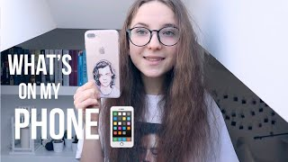 WHAT'S ON MY PHONE? - CO JEST NA MOIM TELEFONIE?  | iPhone 8 Plus
