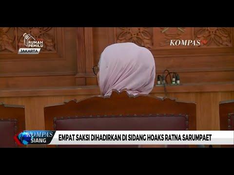 Sidang Lanjutan Ratna Sarumpaet, Jaksa Hadirkan 3 Staf Ratna & BPN Prabowo-Sandi