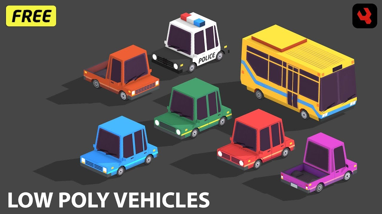 Low Poly Cars by DevilsWork shop