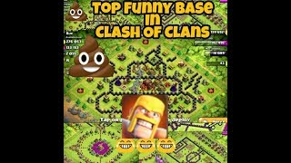 Clash Of Clans Top 25 Funny Base Reviw|Coc Buzz