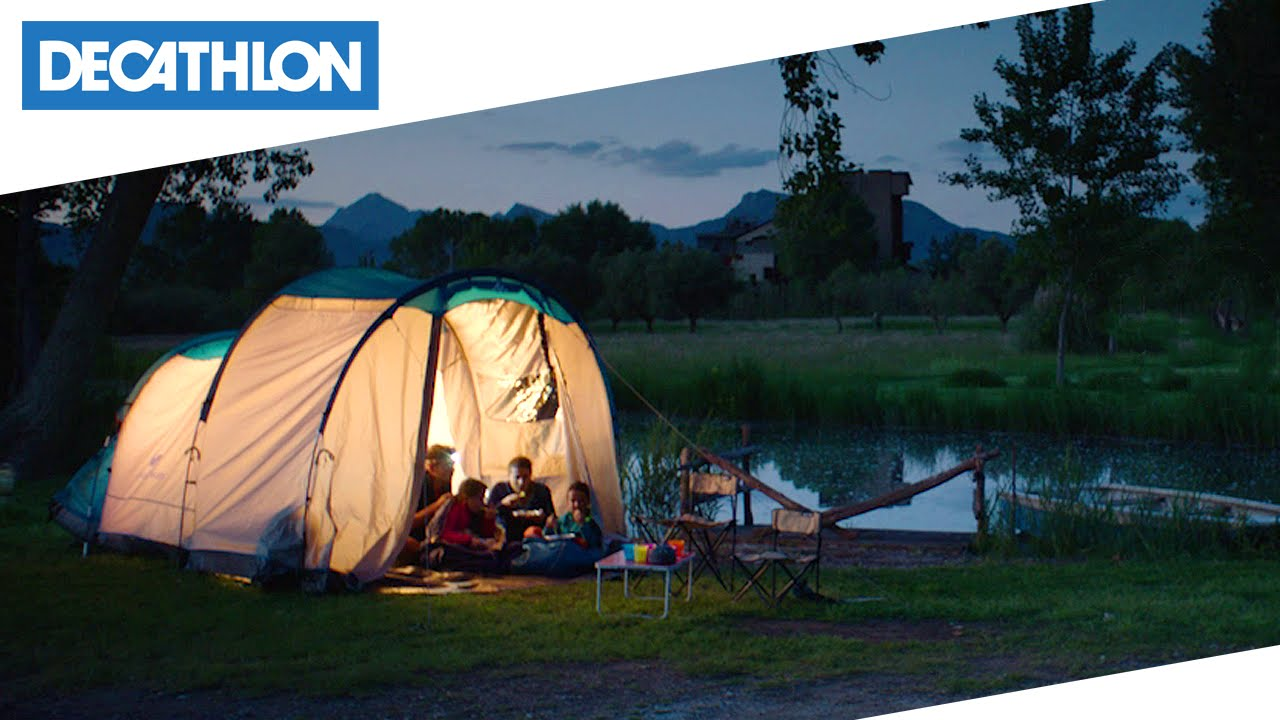 #LoFaccioPerché - Tenda Arpenaz Family 4.1 Quechua | Decathlon Italia - YouTube & LoFaccioPerché - Tenda Arpenaz Family 4.1 Quechua | Decathlon ...