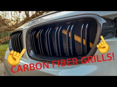 MY NEW CARBON FIBER GRILLS! (DIY INSTALL+ NEW TIPS AND DUCK BILL)