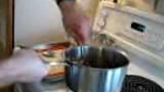 Making Haystacks / Chocolate Macaroons