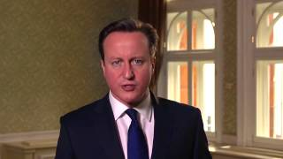 Mensaje de Pascua de David Cameron 2015