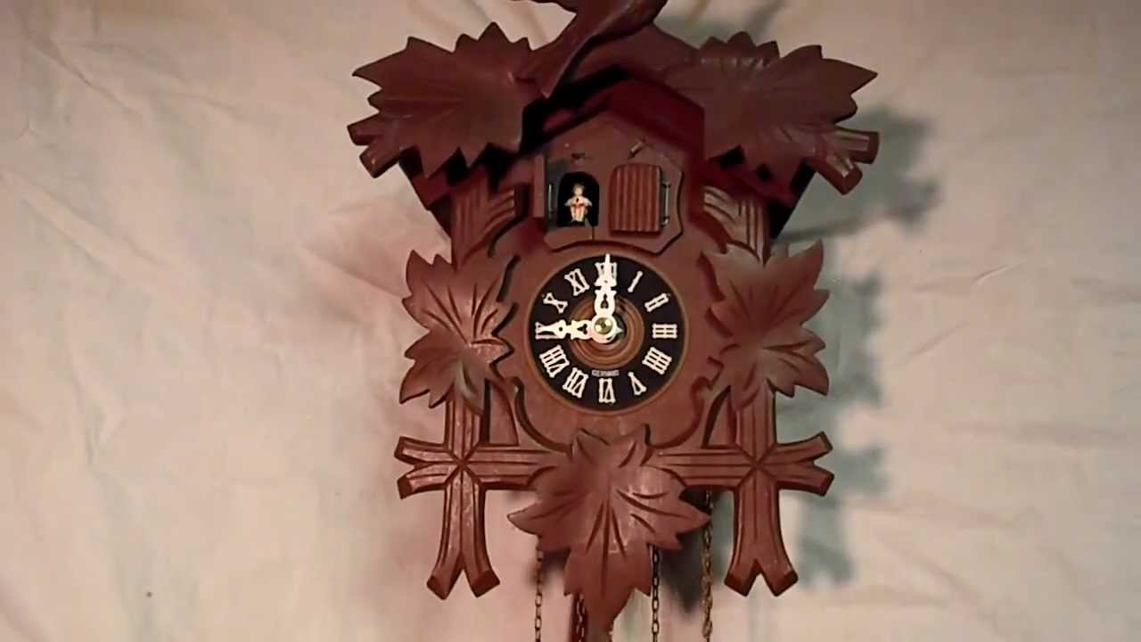 O sole Mio musical 2 door cuckoo clock & O sole Mio musical 2 door cuckoo clock - YouTube