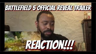 Battlefield 5 Official Reveal Trailer REACTION!!!