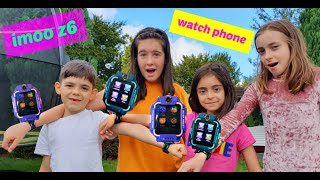 Kids Playing Hide and Seek with imoo - the smartest Watch Phone !