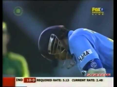Sachin Tendulkar Vs Glenn McGrath 2006 Dlf Cup Malaysia   YouTube