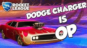 '70 Dodge Charger R/T is OP | Rocket League Montage