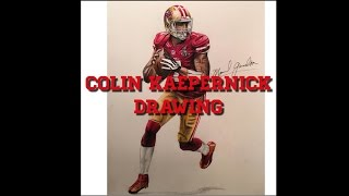 Colin Kaepernick drawing (time lapse)