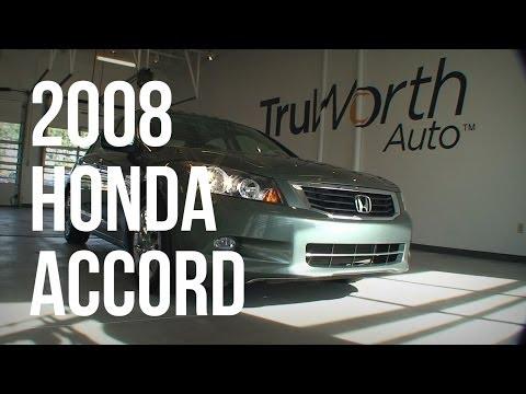 2008 Honda Accord EX - Clean CARFAX - Power Moonroof - TruWorth Auto