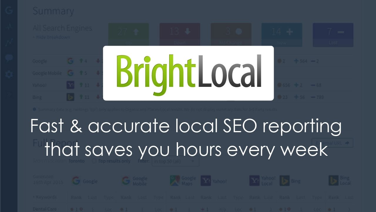 best seo software- brightlocal