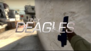 CS:GO ONLY DEAGLES (Fragmovie)