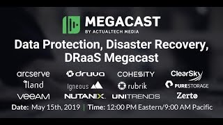 Data Protection, Disaster Recovery, DRaaS Megacast
