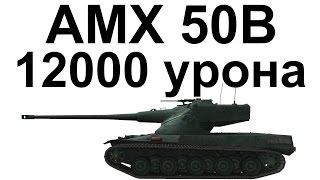 AMX 50B. 12000 урона. Подписчик гнёт рандом.