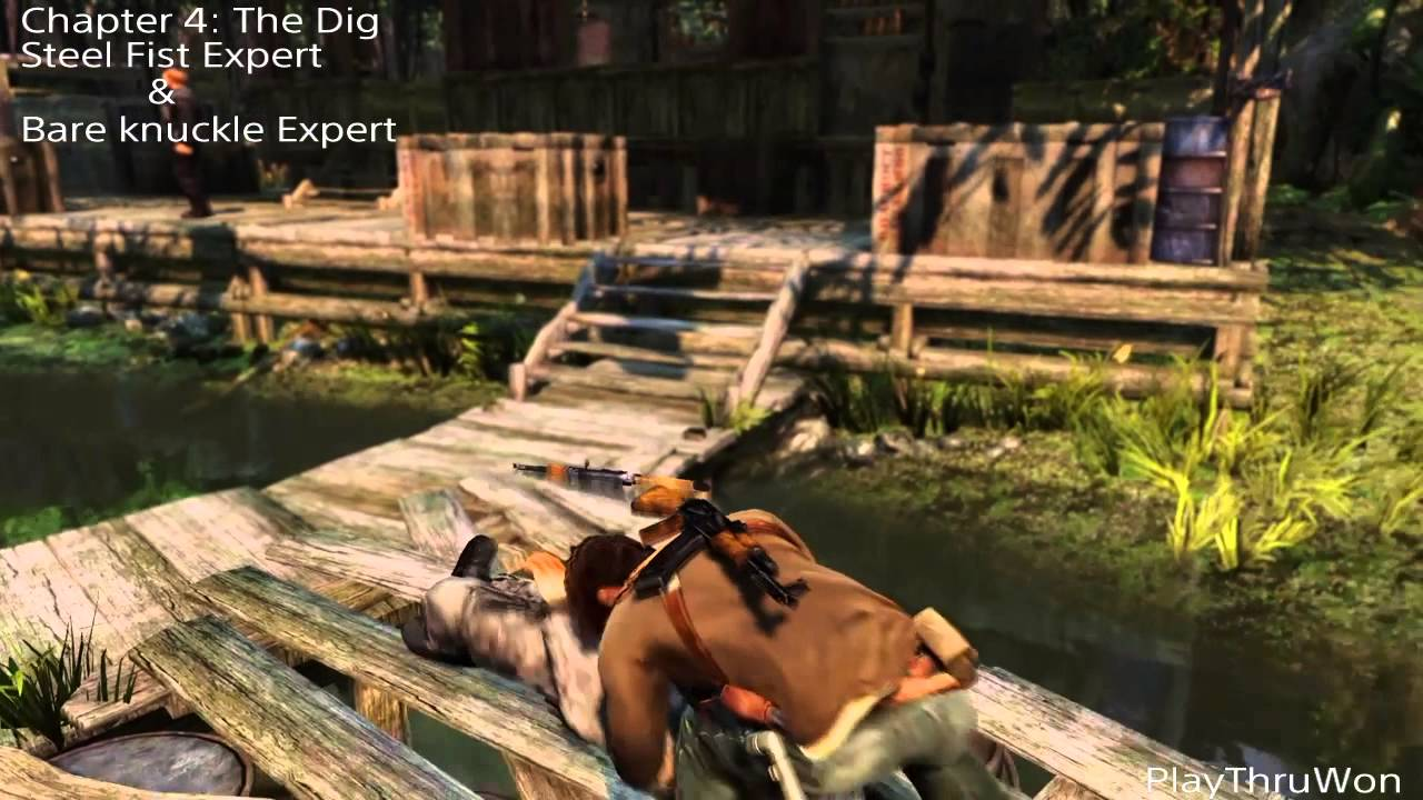 uncharted 2 among thieves steel fist expert trophy guide youtube rh youtube com uncharted 2 trophy guide remastered uncharted 2 trophy guide ps4