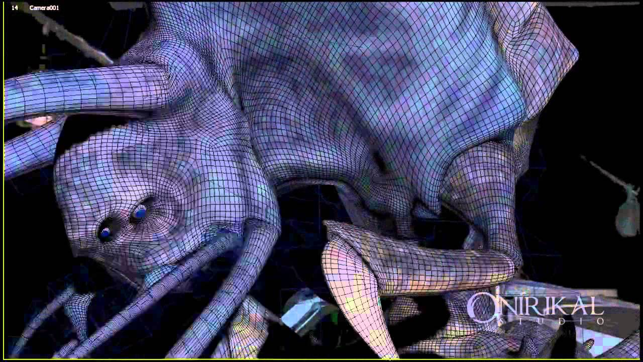 THE FISHERMAN   VFX & 3D Animation Reel   ONIRIKAL STUDIO