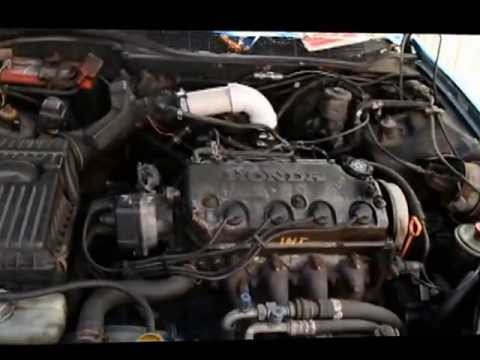 D16y7 intake hack - YouTube
