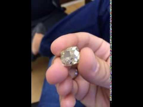 Как купить кольцо с натуральным бриллиантом? Экспертиза - YouTube