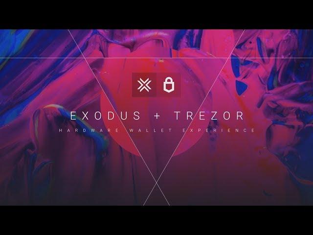 Exodus + Trezor Hardware Wallet: Advanced Security Made Easy (Exodus Wallet + Trezor Model T)