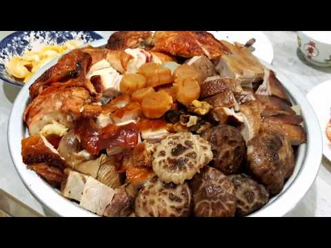 盆菜食谱 Poon Choi Recipe