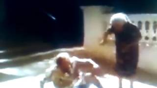 two old woman fighting each other that s crazy but bad ass