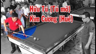 Bida phăng Cơ thủ Hữu Tú (Tú mỡ) vs Kim Cương - libre billiards 당구 bida gom