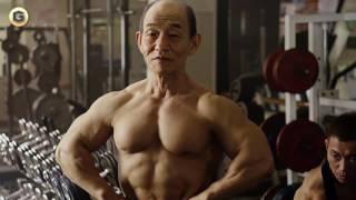 KINCHO KINCHO 2013CM一覧 . 笹野高史 (ささのたかし)のムキムキ筋肉...
