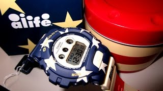 casio g shock gdx 6900al 2 alife young america union peg leg unboxing by thedoktor210884