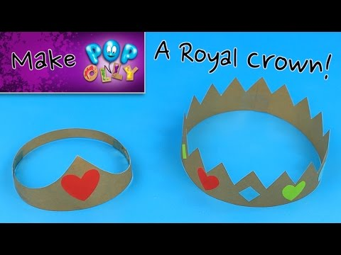 Make a Paper Crown | Pop'n'Olly | Olly Pike