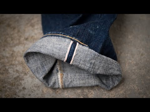 How To CUFF Your RAW DENIM JEANS