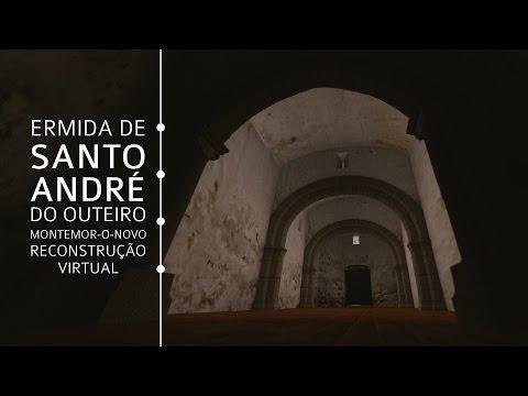 A Reconstrução Virtual da Ermida de Santo André do Outeiro - Montemor-o-Novo