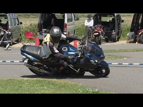2017 5 14 Ehime Dunlop Moto Gymkhana ざっぱあ 選手 ZZR1400 heat 2