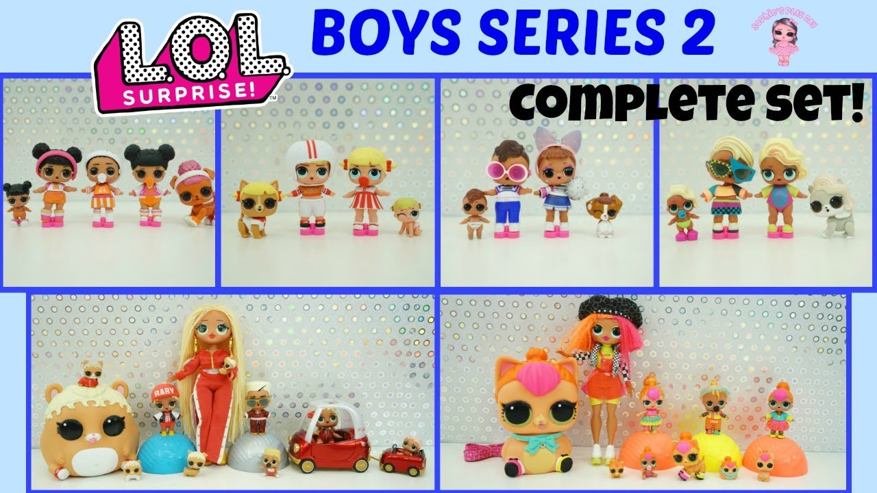 LOL Surprise BOYS SERIES Series 2