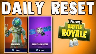 FORTNITE DAILY SKIN RESET - LEVIATHAN SKIN IS BACK!! Fortnite Battle Royale Daily Items in Item Shop