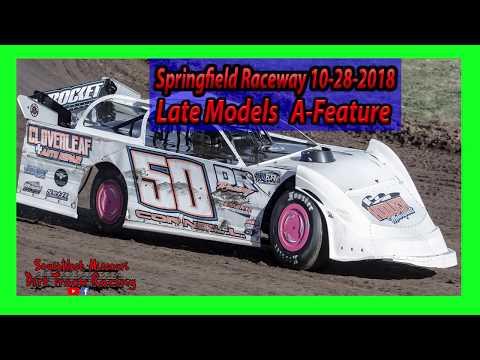 Late Models A-Feature - Springfield Raceway 10/28/2018 - Willard Project Grad