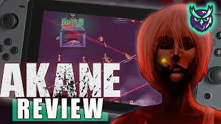 Akane Nintendo Switch Review- Cyberpunk Arena Slasher (Video Game Video Review)