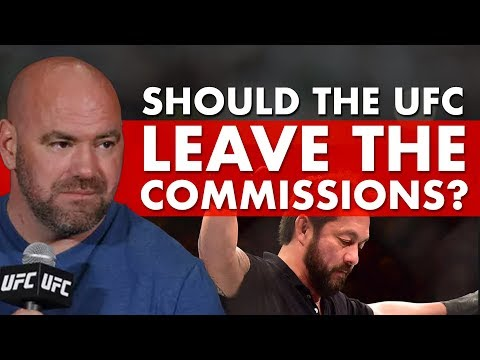 Does The UFC Still Need Athletic Commissions?