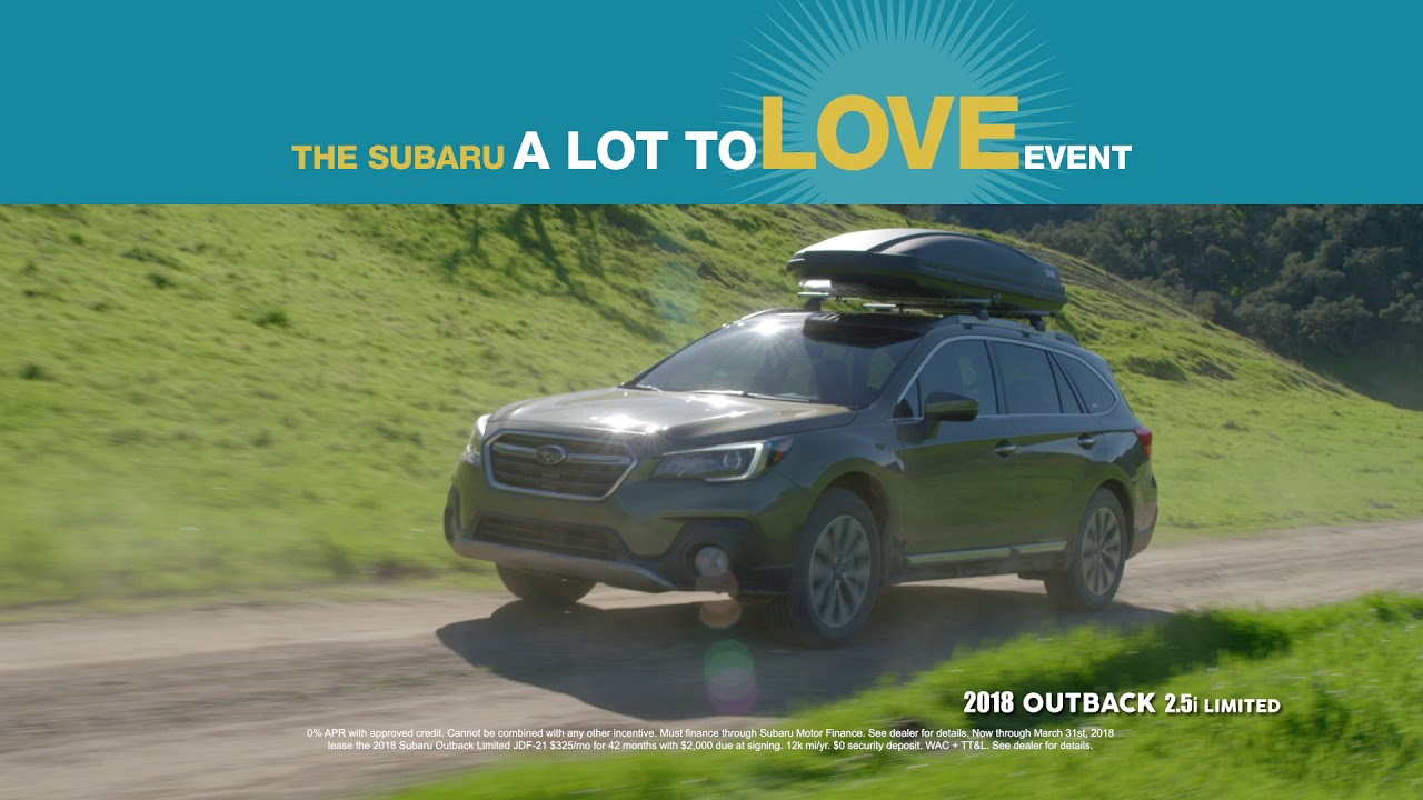 Landers McLarty Subaru - March A Lot to Love Event