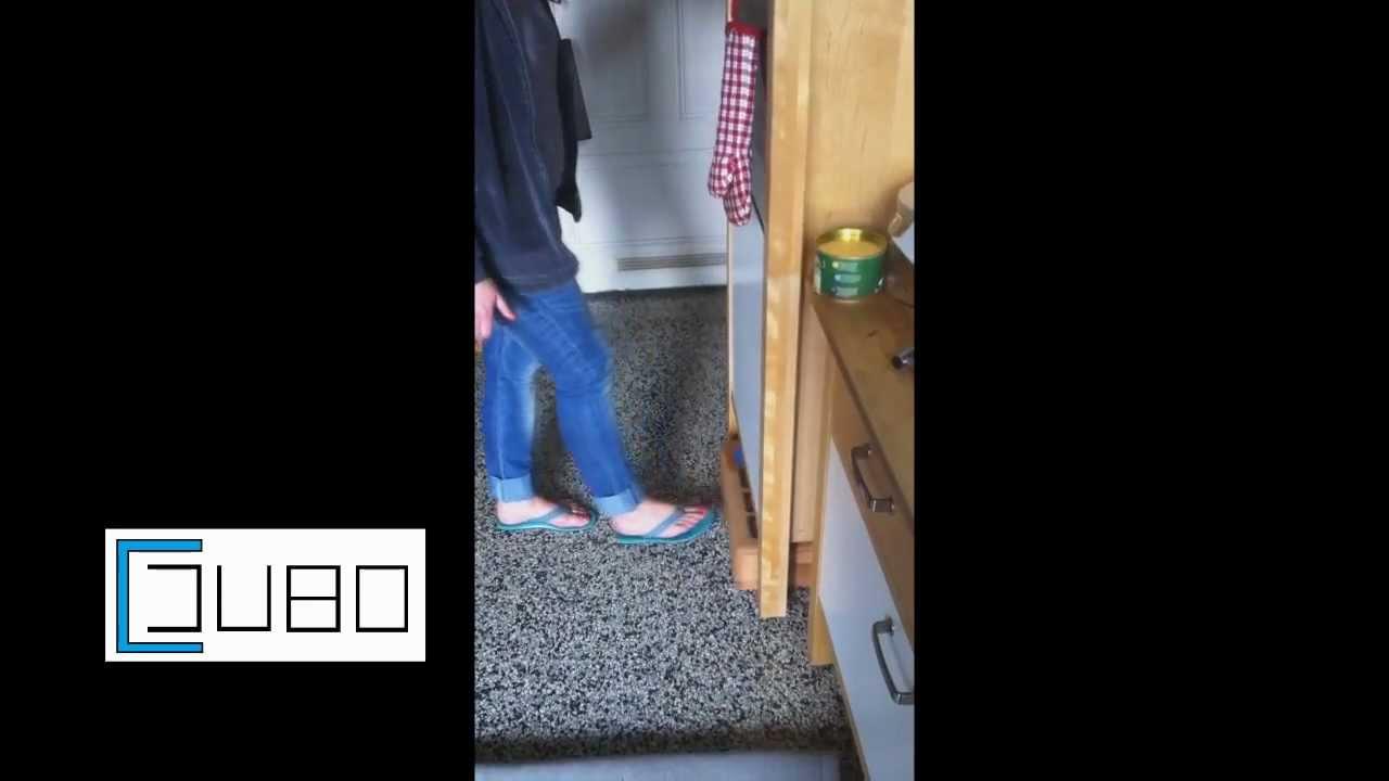Cjubo sockelstufe für die küche   youtube